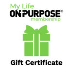 a gift box my life on purpose gift certificate